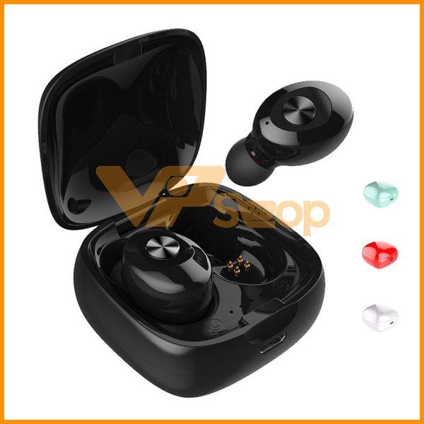 XG12 TWS Bluetooth 5.0 наушники в ухе беспроводные стерео наушники мини-наушники спортивная гарнитура XG-12 для iPhone Samsung с зарядным чехлом