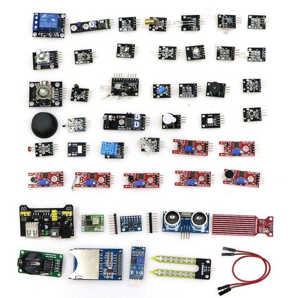 Compre Kit Inicial De Módulos De Sensores 45 En 1 Mejor Que Kit De Sensores 37in1 37 En 1 Para Arduino Diy Sensor A 72 25 Del Copy01 Dhgate Com