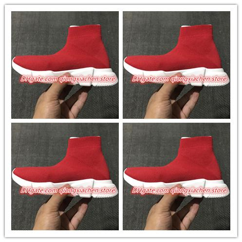 hot Cheap Kids Speed Trainer Knit High Socks Sports Shoes 2019 New Mercurial Sneakers For kids size 25-35