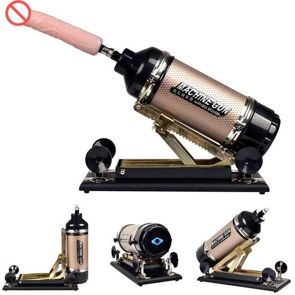 Секс-машина с навесным оборудованием Реалистичный большой дилдо Love Thrusting Machines Секс-мебель Секс-игрушки для женщин E5-1-59