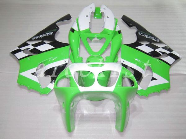 Nouveau kit complet de carénages Fit pour KAWASAKI NINJA ZX-7R ZX7R ZX 7R 1996 1997 1998 1999 2000 2002 2002 2003 Carénage ABS