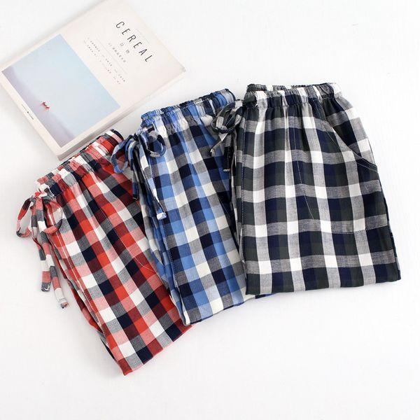 muchos estilos mejor proveedor mejor autentico Compre Pantalones De Algodón Para Hombre Pantalones Casuales Casuales  Pantalones Para Dormir Para Hombre Pantalones Sueltos Para Hombres Ropa  Para ...