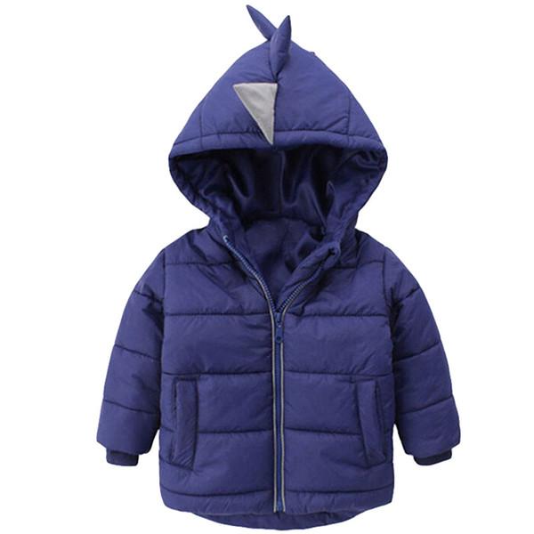 Baby Boys Jacket 2018 Autumn Winter Jackets For Boys Dinosaur Coat Kids Warm Outerwear Coats For Girls Jacket Children Clothes