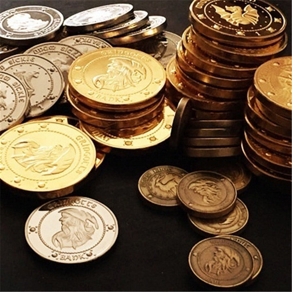 best selling Gringotts Bank Coin New Fans Collection Coin Gold Gringotts Bank Coins cosplay Fashion Gift Drop Shipping
