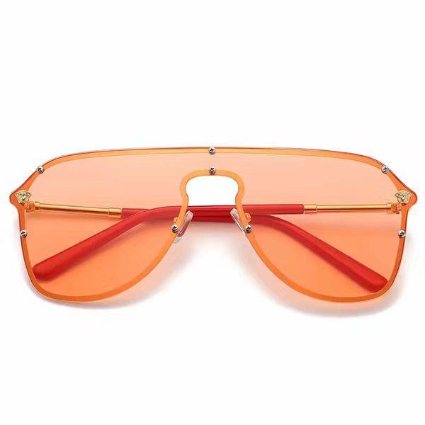 Classic Gold Attitude Sunglasses Square Pilot Sunglasses Sonnenbrille Mens Luxury Designer Sunglasses Glasses Shades New with box