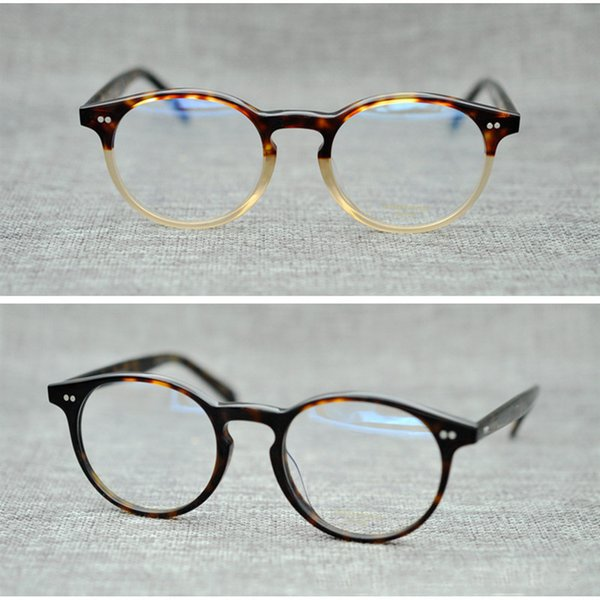 Unisex Sexy Classic Glasses Frames Women Acetate Legs Brand Designer Optical Glass Fashion Eyewear Frame Computer Glass Gafas De Sol JH-GO55