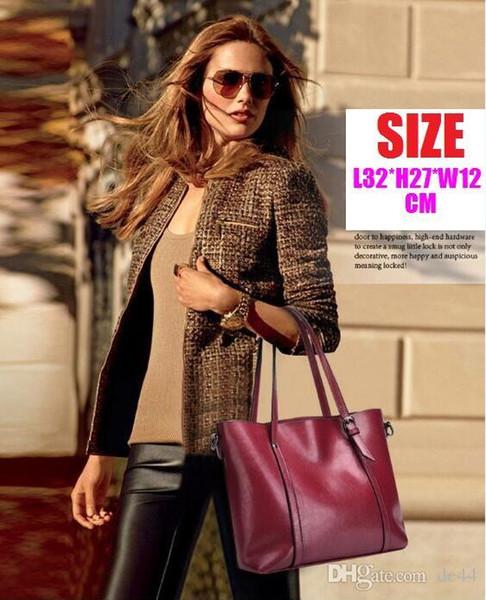 Versandkostenfrei! Mit gurt frauen berühmte leinwand echtleder handtaschen designer umhängetasche billig großhandel billig großhandel offene tasche neu
