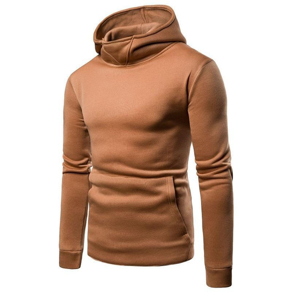 Fashion Cool Hooded Sweater Nice New Pop Sale Long Sleeve Solid Color Hooded Sweatshirt Mens Hoodie Casual Comfortable M-2xl