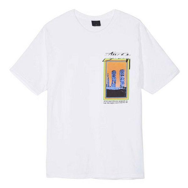 Summer hot tshirt mens designer fashion stussys tshirts print wild t-shirt street sport t-shirts man women cotton t shirt high quality tee