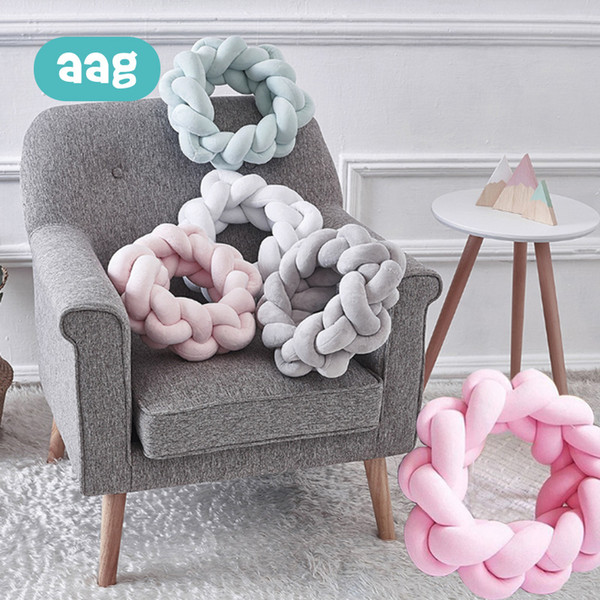 Terrific 2019 Aag Knot Ball Pillow Hand Knotted Creative Pillow Lumbar Nordic Woven Bed Sofa Home Decorative Cushion Solid Color From Begonior 50 37 Short Links Chair Design For Home Short Linksinfo