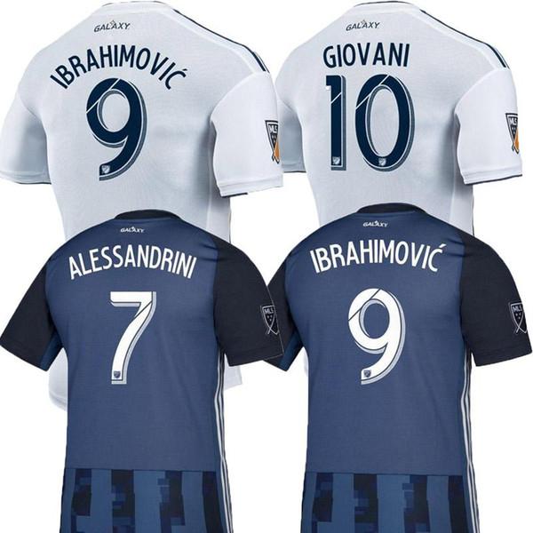 NEW 19 20 IBRAHIMOVIC LA Galaxy jersey soccer Thailand Los Angeles Galaxy GIOVANI COLE ALESSANDRINI CORONA football kit top shirts 2019 2020