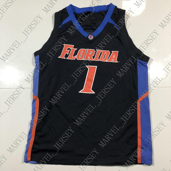 the latest f49f1 f25b3 2019 Cheap Custom Vintage Florida Gators 1 Basketball NCAA Black Jersey  Stitched Customize Any Number Name MEN WOMEN YOUTH XS 5XL From  Marvel_jersey, ...