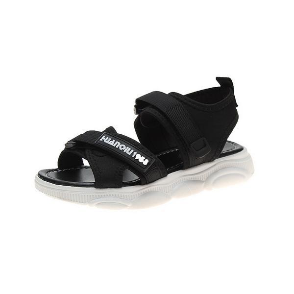 Moda 2019 Yeni Sandalet Balık Ağzı Yaz Eğim topuk Harajuku bayan Ayakkabıları Kalın tabanlı Düz topuklu Sandalet Gelgit