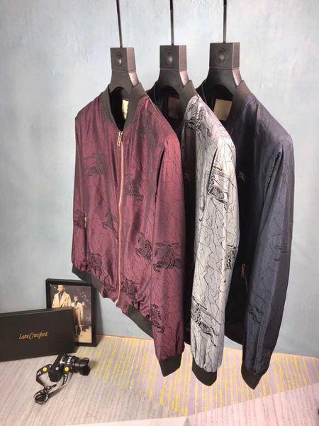 GG hombres de Hip chaquetas de los hombres de moda de las mujeres del dril de algodón ocasional de la chaqueta de la chaqueta de Hip Hop tamaño de ropa para hombre M-3XL