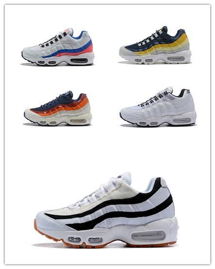 Großhandel Nike Air Max 95 2019 Air Ultra Laufschuhe Herren Designer Sneakers 20 Jähriges Jubiläum OG Triples Weiß Schwarz Sportliche Sportschuhe