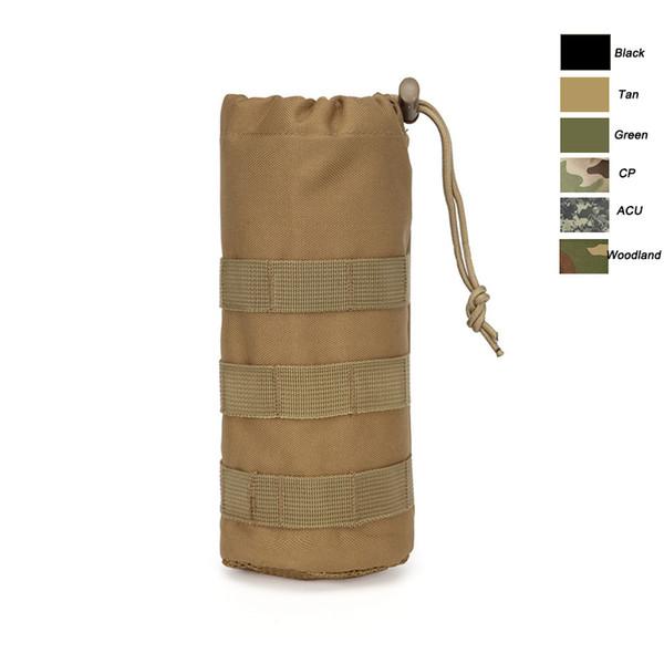 Sacchetto per bottiglia d'acqua tattico mimetico tattico Molle Pack da combattimento all'aperto
