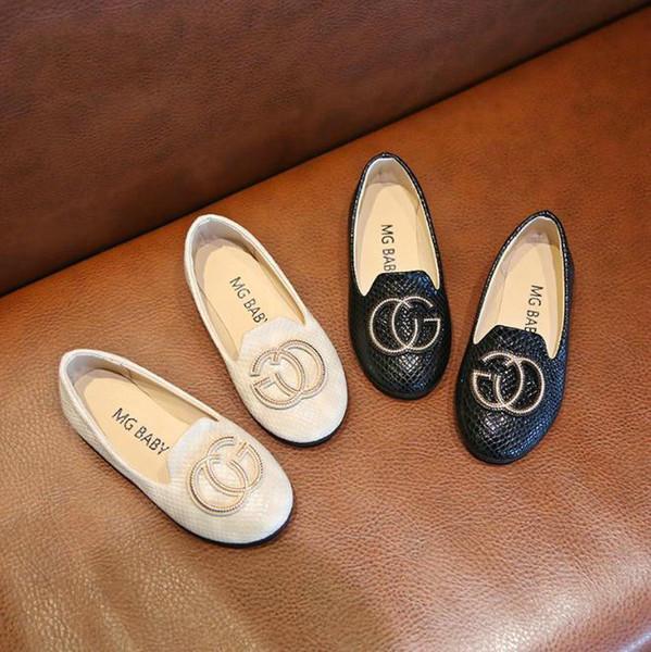 Enfants chaussures en cuir enfants robe de soirée de mariage chaussures princesse nouvelle mode bébé fille été unique chaussures