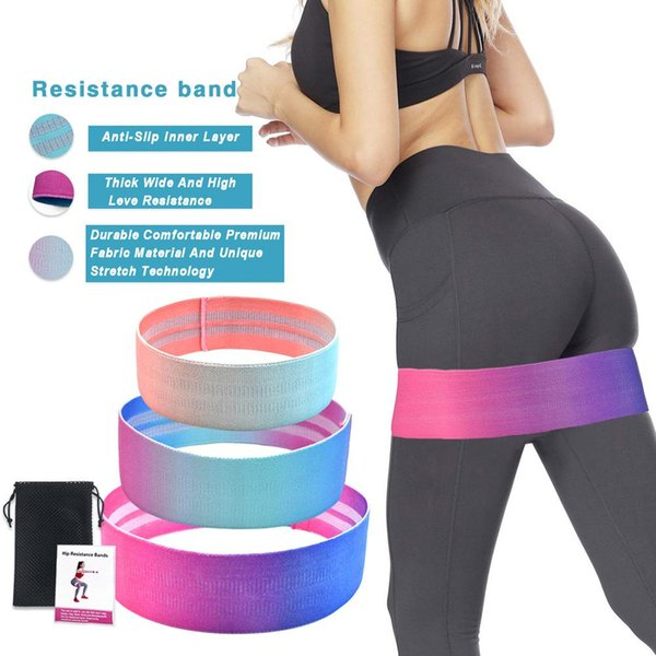 Buttock Resistance Band Yoga Belt Hip Lifting Fitness Shaping Pull Strap