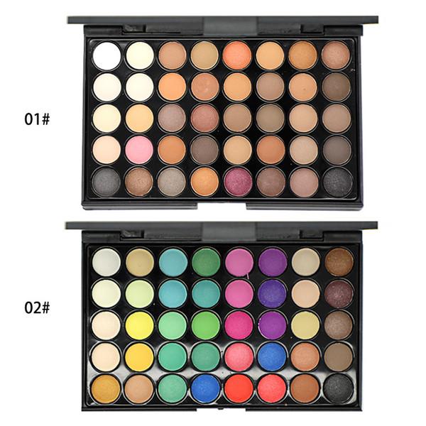 Новый 40 матовый жемчужный цвет теней для век земли цвет теней для век макияжа больше цвета теней для век можно настроить ЛОГОТИП