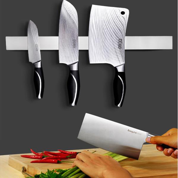 Mutfak bıçağı istirahat kanca bıçak tutucu kapalı su geçirmez tutucu manyetik duvar kanca raf deliksiz raf