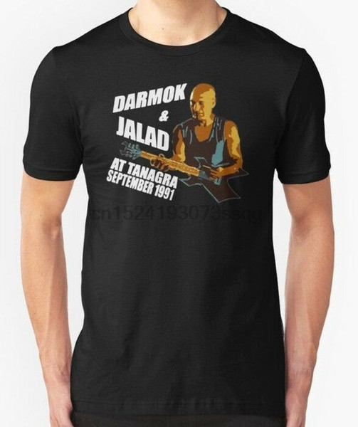 Darmok and Jalad At Tanagra September 1991 Vintage Mens T-Shirt Short Sleeve Tee