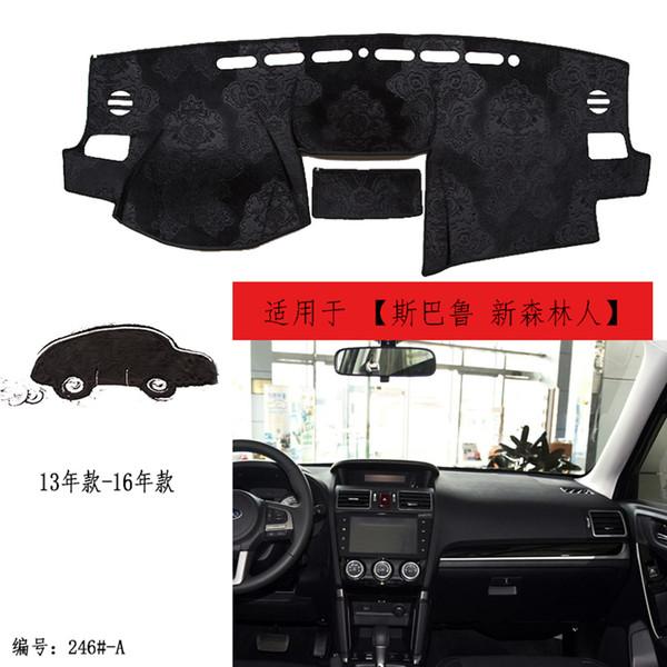 For Toyota Camry 2012-2017 Black Dashmat Dashboard Mat Dash Cover Sun Visor Pad