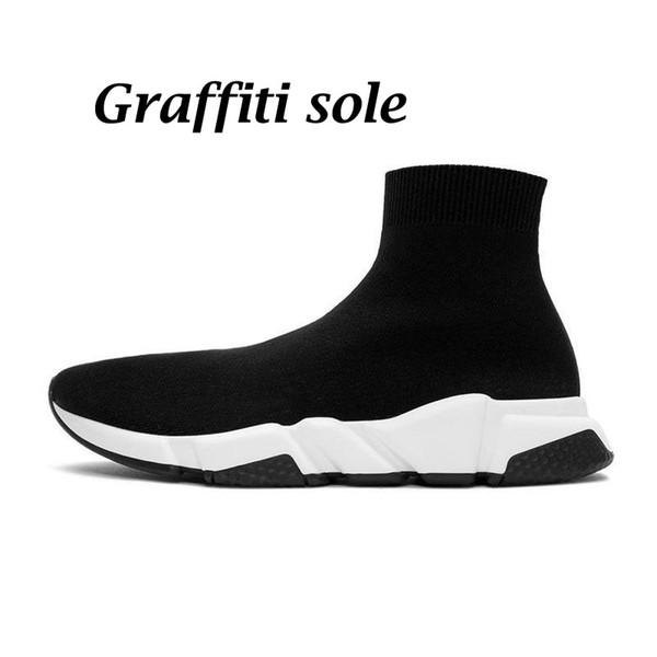 36-45 Graffiti black white