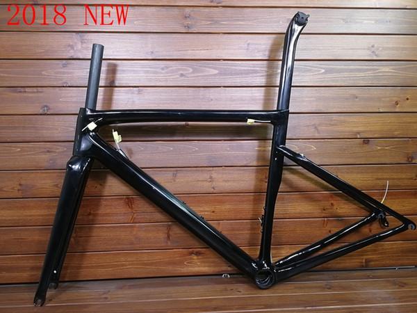 2020 Nueva bicicleta de carretera de carbono T1000 cuadro de bicicleta T1000 UD freno de llanta o cuadro de carretera de freno de disco todo el cable interno Taiwán hizo XDB disponible