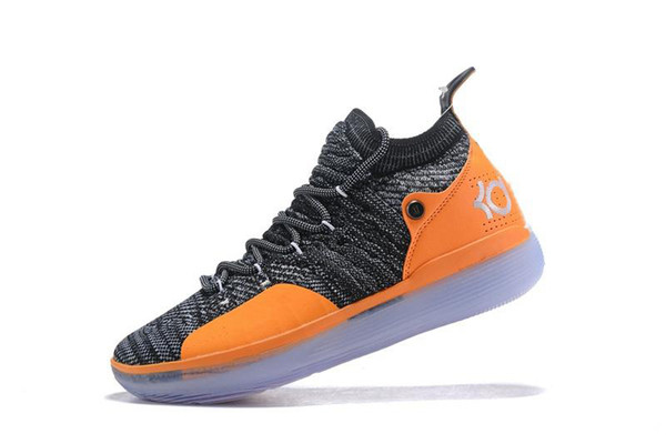NKD11A 2018 New KD 11 EP White Orange Foam Pink Paranoid Oreo ICE outdoor Shoes Original Kevin Durant XI KD11 Mens Trainers Sneakers-qwsaxzc