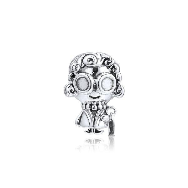 2019 Fête des Mères 925 bijoux en argent sterling Mme Wise Charm Perles Bracelets Pandora Collier Fits pour les femmes bricolage Making