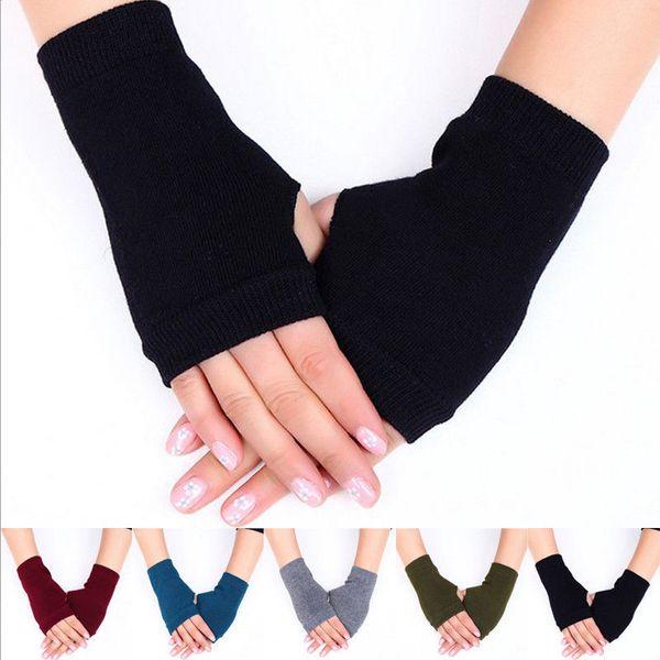 Hirigin 2019 New Stretchy Arm Warmers Long Fingerless Gloves Fashion Mittens Women Hot clothing