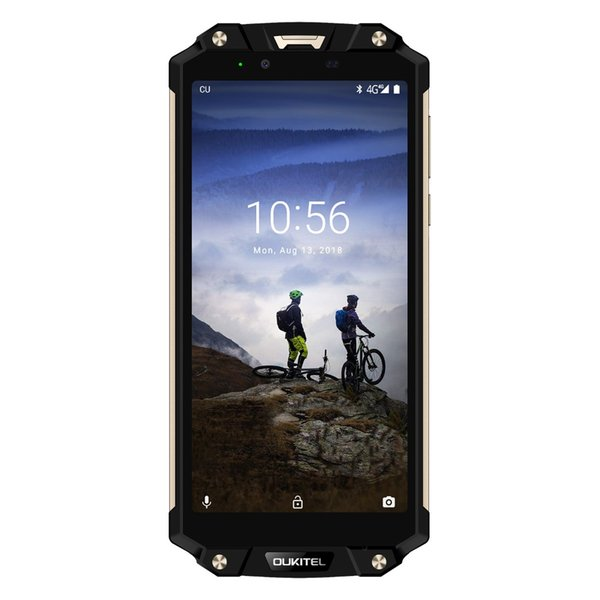 "OUKITEL WP2 Smartphone 6.0"" 18:9 Display IP68 NFC IP68 Waterproof 4GB 64GB MT6750T Octa Core Android 8.0 10000mAh 16MP 4G Fingerprint Phone"