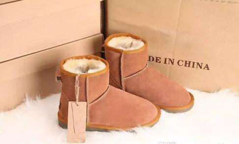 DORP shipping High Quality Classic Brand Women popular tall Australia Genuine Leather Boots Fashion Women's Snow Boots Low price