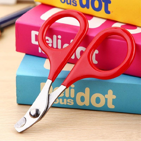 New Arrival Dog Cat Small Size Nail Clipper Easy Carry Scissors Grooming Stainless Steel Cleaning Scissors For Pets Pet cleaning tools
