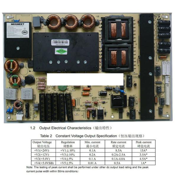 Neue Vorlage für MEGMEET MP128FL-3c 55-Zoll-LED-Display Werbung Power Board