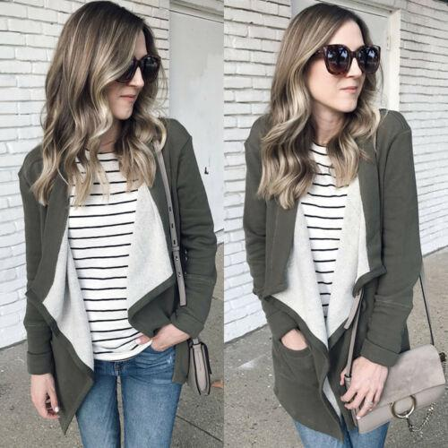 e6f5c71ed2e6 New Hot Sale Women Faux Suede Biker Aviator Jacket Coat Winter Warm  Cardigan Outwear