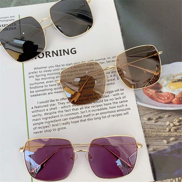 New d home поляризационные очки дамы модные онлайн знаменитости коробка прозрачный розовый анти-уф солнцезащитные очки вождения человек