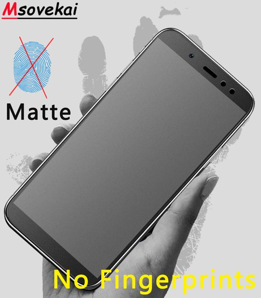 Vidrio templado esmerilado mate 2.5D para Xiaomi PocoPhone F1 Mi 8 SE Mix 2S Max 3 Mi 5X 6X A1 A2 Lite Película protectora de pantalla para Note 3