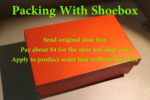 con scatola di scarpe originale paga $ 4