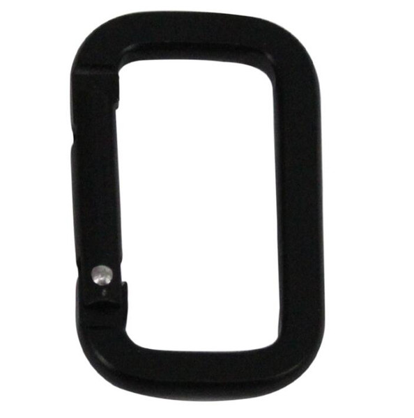 New D shape Square climbing buckle portable carry snap clip hooks aluminum carabiner durable climbing hook outdoor multifunction key chain