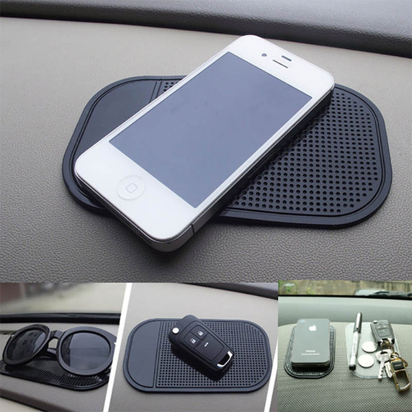 Car Anti-Slip Dashboard Sticky Pad Mat For Phone Glasses Magic Sticky Gel Pads Holder Auto Interior Silicone Mat In Car Accessory HH7-2003