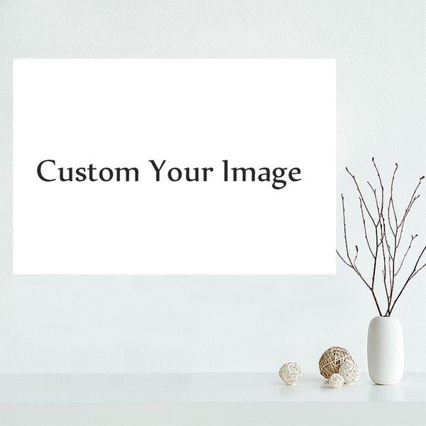Personalizzato la vostra immagine su tela poster Stampa della pittura della parete di arte panno di poster