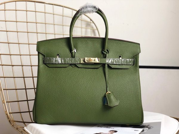 2019 New Light Green Leather Bag Fashion Women'S Single Shoulder Bag Clothing Designer Platinum Luxury Handbag Clutch Wallet Purse