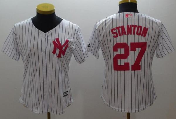 f89fd0d6f1558 2019 Custom New York Yankees Sports Champion mlb Camisetas de béisbol  baratas Moda Hombres Juventud Bernie