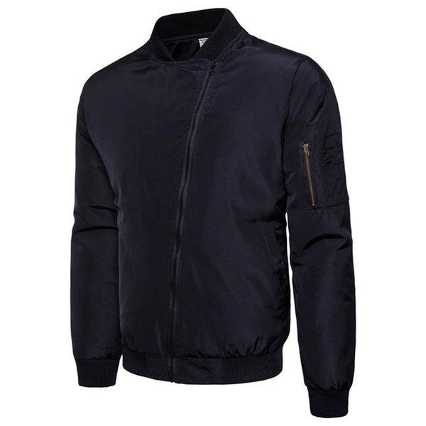 JAYCOSIN New Jackets Parka Mens Diagonal Zipper Wool Blouse Thickening Coat Pullover Outwear Top Casual Windbreak Jackets Men