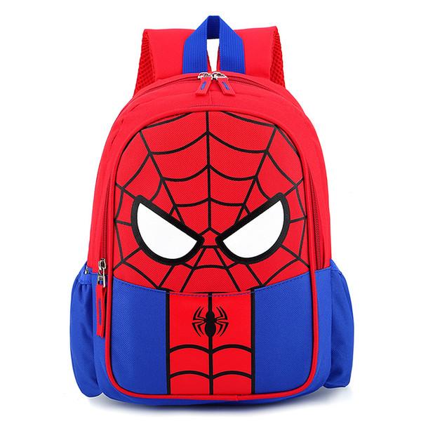 niños mochila Niños boyd cartoon spiderman mochilas bebé bolsa de jardín de infantes bolsos de mano bolsos de niños bolsos de diseñador de moda de lujo