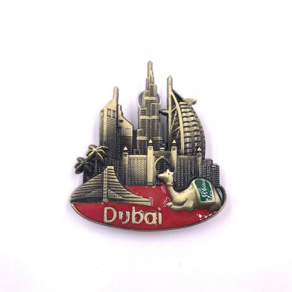 Panorama von Dubai Kamel