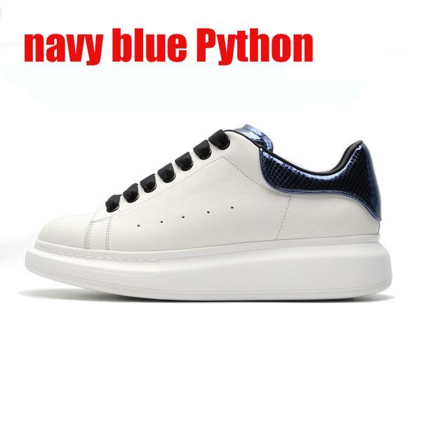 темно-синий питон 36-44
