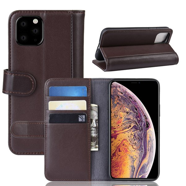 Dermis Leather Flip phone Case For 2019 iphone 5.8/6.1/6.5inch Cover Purse Wallet For iphone 6 plus 7 8 plus X XS max Xr protective cases