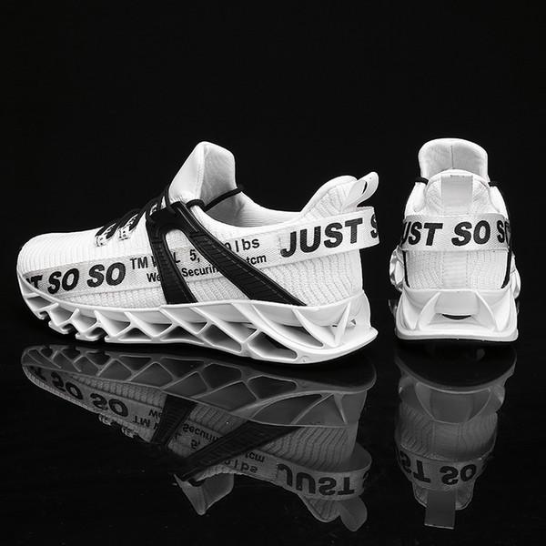 Erkekler Için bıçak Koşu Ayakkabıları Nefes Örgü Çorap Sneakers Antiskid Sönümleme Taban Atletik Spor Ayakkabı Eğitim Zapatills Çalıştırın